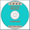 1995 Chrysler, Dodge, Plymouth Caravan, Voyager, Town and Country (AS) Service Manual on CD (SKU: 813705105CD)
