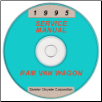 1995 Dodge Ram Van & Wagon (AB) Service Manual on CD-ROM (SKU: 813705107CD)