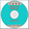 1995 Dodge Dakota (AN) Service Manual on CD (SKU: 813705110CD)