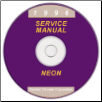 1996 Dodge Neon (PL) Service Manual On CD (SKU: 813706025CD)