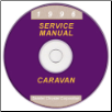 1996 Dodge, Chrysler, Plymouth Caravan, Voyager, Town and Country (NS) Service Manual on CD (SKU: 813706105CD)