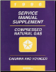 1996 Chrysler Town & Country / Dodge Caravan / Plymouth Voyager  Natural Gas Service Manual Supplement (SKU: 813706105b)