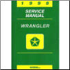 1998 Jeep Wrangler (TJ) Factory Service Manual (SKU: 813708148)