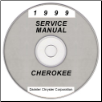 1999 Jeep Cherokee (XJ) Factory Service Manual - CD Rom (SKU: 813709146CD)