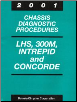 2001 Chrysler LHS, 300M, Concorde & Dodge Intrepid Factory Chassis Diagnostic Procedures Manual (SKU: 8169901040)