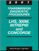2001 Chrysler LHS, 300M, Concorde & Dodge Intrepid Factory Transmission Diagnostic Procedures Manual (SKU: 8169901041)