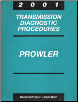 2001 Plymouth Prowler Factory Transmission Diagnostic Procedures (SKU: 8169901047)
