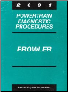 2001 Plymouth Prowler Factory Powertrain Diagnostic Procedures Manual (SKU: 8169901048)