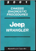 2001 Jeep Wrangler Factory Chassis Diagnostic Procedures (SKU: 8169901056)