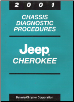2001 Jeep Cherokee Chassis Diagnostic Procedures (SKU: 8169901063)