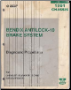 1991 Chrysler / Plymouth / Dodge / Eagle Bendix Antilock - 10 Brake System Chassis Diagnostic Procedures (SKU: 816990163)