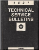 1991 Chrysler Technical Service Bulletins (SKU: 816990300)