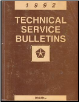 1992 Chrysler Technical Service Bulletins (SKU: 816990400)