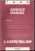 1990 Chrysler Laser, Eagle Talon Body Repair Manual (SKU: 816999038)