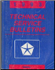 1993 Chrysler / Dodge / Plymouth / Jeep / Eagle Technical Service Bulletins (SKU: 8169994000)