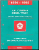 1994 - 1995 5.9L Cummins Diesel Truck Powertrain Diagnostic Procedures (SKU: 8169994003)