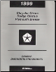 1999 Chyrsler Cirrus, Dodge Stratus and Plymouth Breeze Factory Chassis Diagnostic Procedures Manual (SKU: 8169998061)