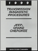 1999 Jeep Grand Cherokee Transmission Diagnostic Procedures (SKU: 8169998174)