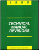 1998 Chrysler Technical Revisions Manual (SKU: 8169999004)