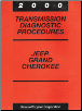 2000 Jeep Grand Cherokee 45RFE Transmission Diagnostic Procedures (SKU: 8169999053)