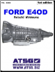 Ford E4OD Transmission Rebuild Minimums by Greg Catanzaro (SKU: 83-TOLE4OD)