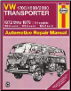 1972 - 1979 Volkswagen Transporter 1700 / 1800 / 2000 Haynes Automotive Repair Manual (SKU: 0856966142)