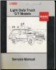 1989 Chevrolet GMC Light Duty Truck Service Manual - S/T Models (SKU: X8929)