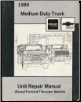 1989 GMC Medium Duty Truck Unit Repair Manual (SKU: X8938)