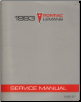 1993 Pontiac Le Mans Factory Service Manual (SKU: S9310T)