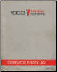 1993 Pontiac Sunbird Factory Service Manual (SKU: S9310J)