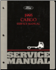 1995  Ford Cargo Truck: Body, Chassis & Drivetrain Service Manual (SKU: FCS1205695)