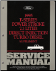1995 Ford F-Series 7.3L Power Stroke Direct Injection Turbo Diesel Truck Service Manual Supplement (SKU: FCS1225895)