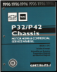 1996 Chevrolet & GMC P32/P42 Chassis Motorhome Service Manual - 2 Volume Set (SKU: GMT96P3-1-2)