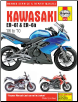 2006 - 2010 Kawasaki EX650, ER650, ER-6f & ER-6n Haynes Repair Manual (SKU: 9781844258741)