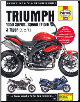2005 - 2013 Triumph 1050 Sprint ST, Speed Triple and Tiger Haynes Service & Repair Manual (SKU: 9780857338761)