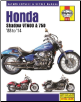 1988 - 2014 Honda Shadow VT600, VT750 Haynes Motorcycle Repair & Service Manual (SKU: 9781620922224)
