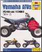 2004 - 2015 Yamaha YFZ450 & YFZ450R Haynes ATV Service & Repair Manual (SKU: 9781620922330)