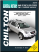 2007 - 2015 GM Acadia, Enclave, Outlook & Traverse Chilton Repair Manual (SKU: 9781620922439)