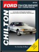 1989 - 2011 Ford Crown Victoria & Grand Marquis Chilton's Total Car Care Manual (SKU: 9781620922446)