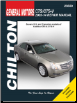 2003 - 2014 Cadillac CTS & CTS-V Chilton's Total Car Care Manual (SKU: 9781620922514)