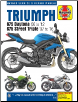 2006 - 2016 Triumph 675 Daytona and Street Triple Haynes Repair Manual (SKU: 9780857339249)