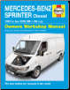 1995 - 2006 Mercedes-Benz Sprinter Diesel Haynes Repair Manual (SKU: 9870857339812)