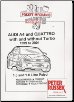 1999 - 2001 Audi A4 & Quattro with & without Turbo  1.6 & 1.8L Petrol, Russek Repair Manual (SKU: 1907070001)