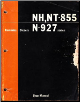 Cummins Diesels: NH-855, NT-855 & N-927 CID Series Engines - Factory Shop Manual (SKU: 983696OE)