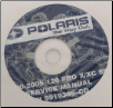2000-2005 Polaris 120 XC SP, 2004-2005 120 Pro X Snowmobile Repair Manual CD-ROM (SKU: 9919306-CD)