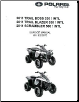 2011 Polaris Trail Boss 330, Trail Blazer 330 & Scrambler 500 4X4 Factory Service Manual - Softcover (SKU: 9923070)