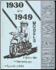 1930 - 1949 Harley-Davidson Operation, Maintenance and Specifications Book (SKU: 99407-93)