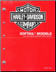 1995 - 1996 Harley-Davidson Softail Models Factory Parts Catalog (SKU: 99455-96A)