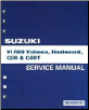 2001 - 2011 Suzuki VL800 Volusia, Boulevard, C50 & C50T Factory Service Manual (SKU: 995003804703E)