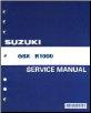 2009-2015 Suzuki GSX-R1000 Factory Service Repair Shop Manual (SKU: 995003938003E)